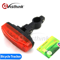 4400 mAh Batería de Larga Duración dispositivo gps de seguimiento de google map track bike Trasera de bicicletas