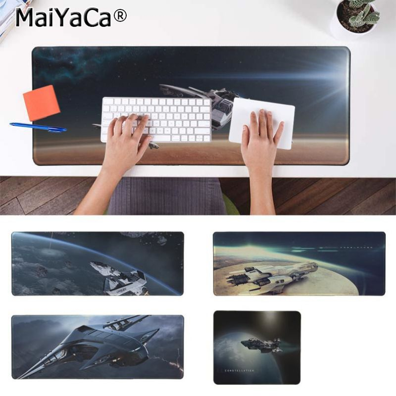 Yinuoda Star Citizen Wallpaper Keyboard Gaming MousePads Size for 30x90cm and 40x90cm Gaming Mousepads