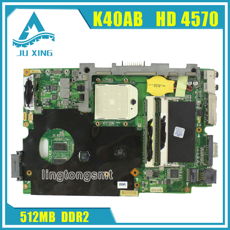 Original for ASUS K40AB Mainboard K40AF K50AD K50AB K50AF X8AAF X5DAF Motherboard HD 4570 512MB VRAM DDR2 tested good nike air max 90 женские купить срочно