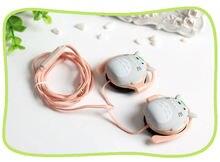 Totoro Headset Earplugs With Mic