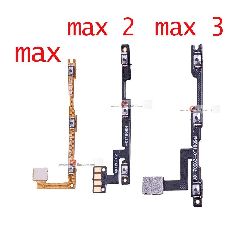 1 шт. новая кнопка включения/выключения питания и кнопка регулировки громкости гибкий кабель для Xiao mi Max 2 max 3 запчасти для ремонта|Шлейфы для мобильных телефонов|   | АлиЭкспресс