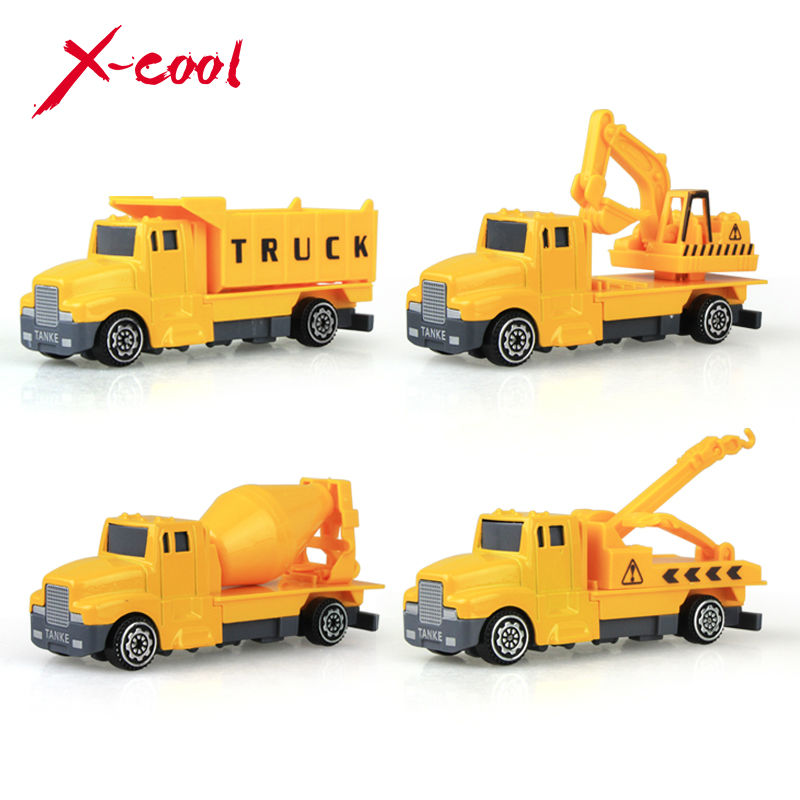 kids toys diecast cars metal classical model cars engineering vehicle model toys for children boys gift