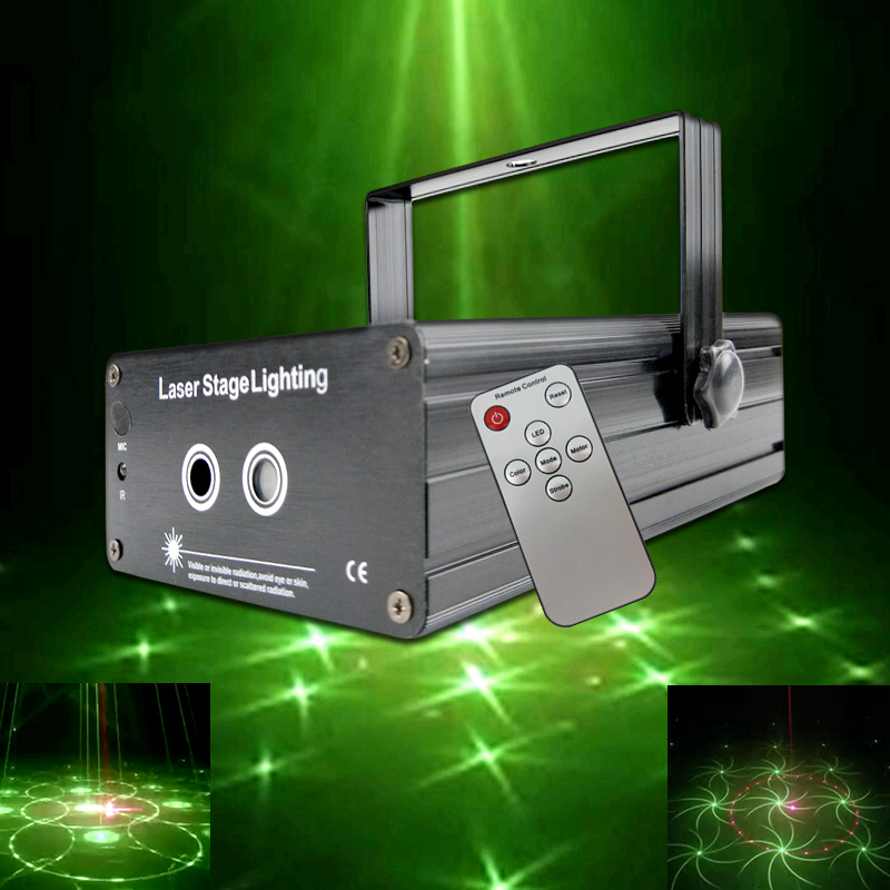 ATREUS LED Laser Stage Lighting RGB Mini new year Christmas Projector music Light Effect Show For DJ Disco Party club Lights atreus dream dled laser stage lighting patterns mini laser projector blu green light effect show for dj disco party club lights