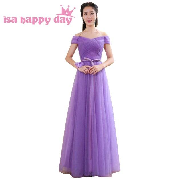 special occasion elegant off shoulder prom dress long modest ...