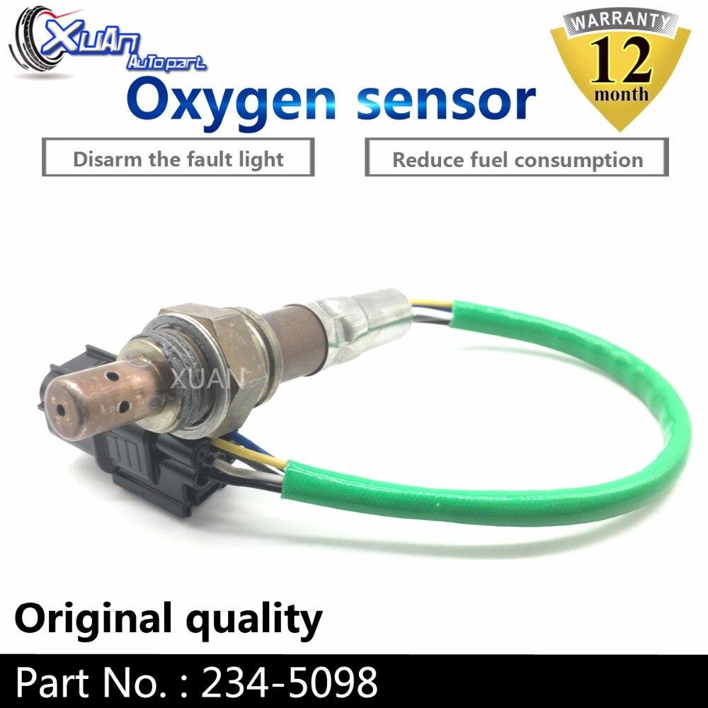 XUAN Car Oxygen O2 Lambda Sensor For Acura MDX RL TL TSX ZDX Honda Accord Crosstour Odyssey Pilot Ridgeline V6 3.5L 234 5098