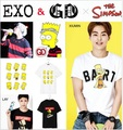 Bigbang Exo Xoxo Короткими рукавами Футболки Рычать Крис Лухан Sehun Kai Lay Xiumin Футболка Kpop New