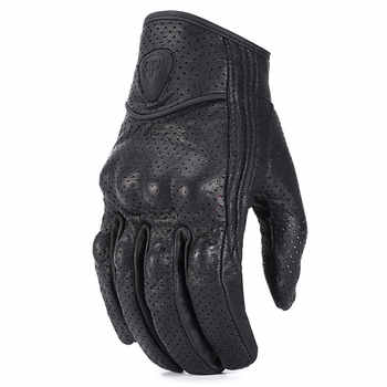 roaopp leather motorcycle gloves Perforated