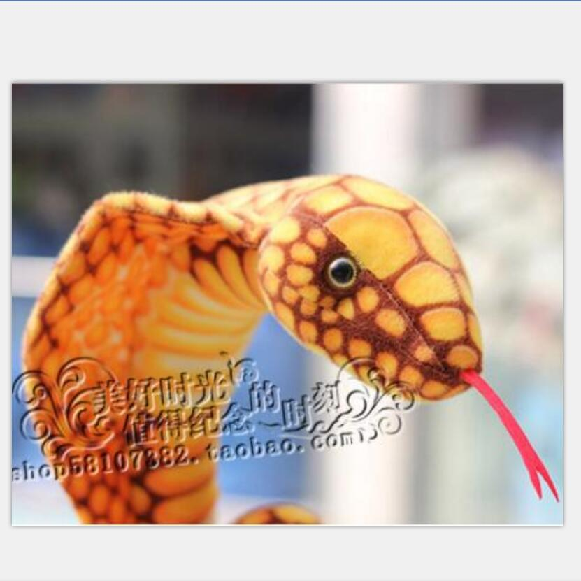 US $29 66 |2 meters Simulation toy snake, gold python, boa constrictor  snake Zodiac baby doll mascots, plush toys-in Stuffed & Plush Animals from  Toys