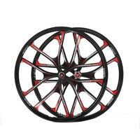 MTB 5 spokes mountain bike wheels 27.5 magnesium alloy 26 speeds wheels 26 inches Mountain Bicycle Wheel parts bike rims