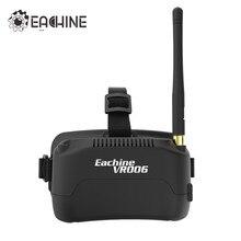 Eachine E013 VR006 VR-006 с одной антенной 3 дюйма 5,8G 40CH Мини FPV очки встроенный аккумулятор 3,7 V 500mAh против Fatshark Aomway