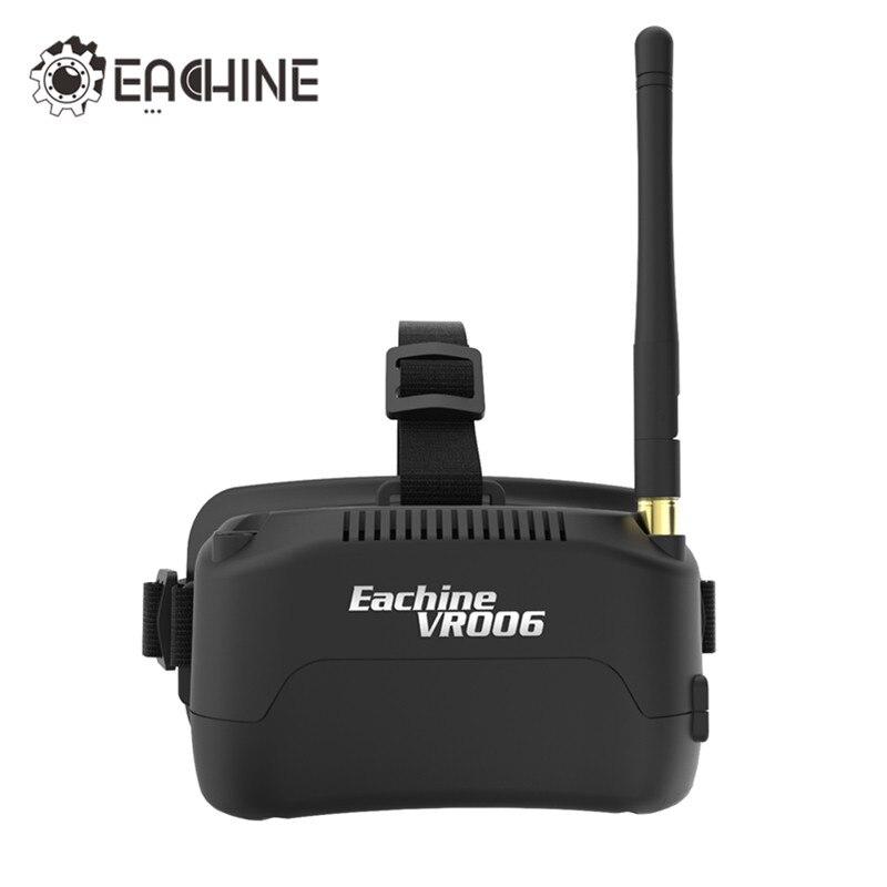 Auf Lager Eachine E013 VR006 VR-006 Einteiliges antenne 3 Zoll 5,8G 40CH Mini FPV Schutzbrillen Bauen in 3,7 V 500 mAh Batterie VS Fatshark Aomway
