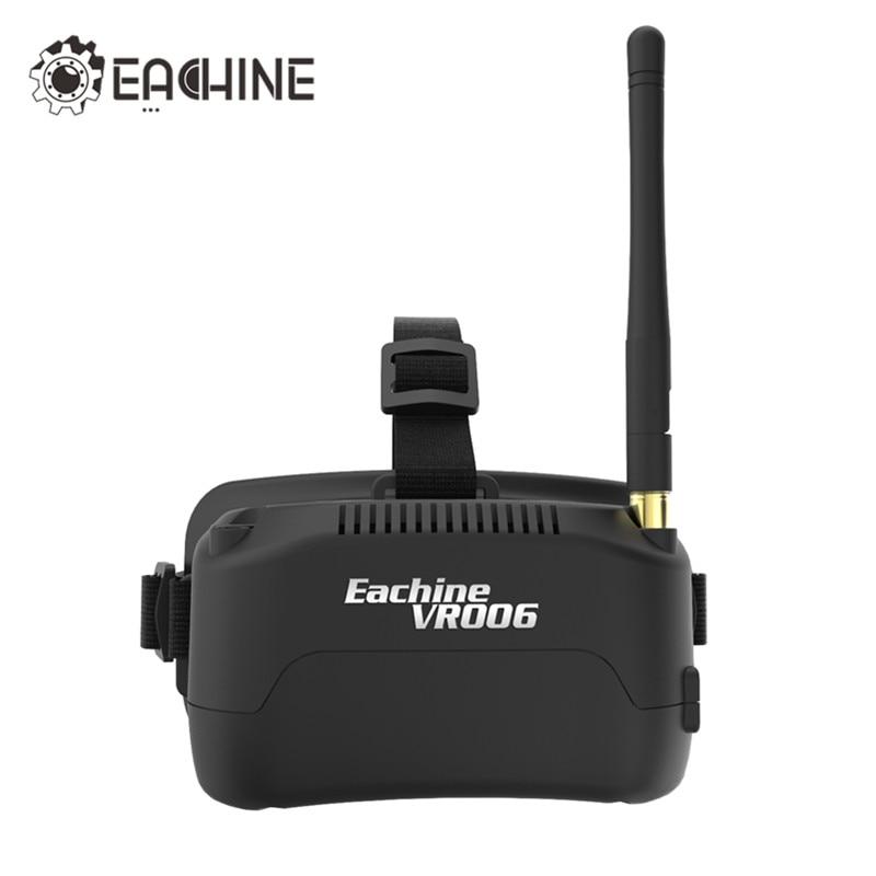 In Stock Eachine E013 VR006 VR-006 One-antenna 3 Inch 5.8G 40CH Mini FPV Goggles Build in 3.7V 500mAh Battery VS Fatshark Aomway