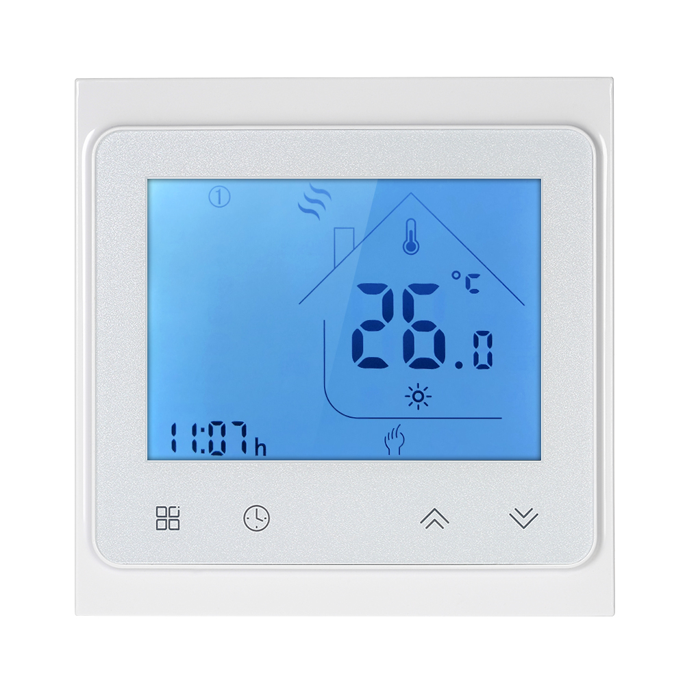 230V WiFi Heat Thermostat Energy Efficient Programmable Touch Screen Underfloor