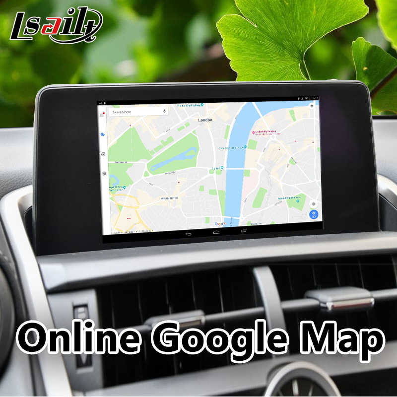 Plug&Play All-in-1 Android Car GPS Navigation Box for 2018 Lexus NX with  USB Online Update Support Original Touch Sensor Control