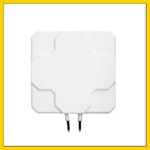 Image 3 - 2 * 22DBi 4G LTE Trên Không Hướng Ăng Ten Ngoài Trời Bảng Điều Chỉnh MIMO Bên Ngoài Antenne SMA maleconnector10M cable Đối Với huawei 4g Router