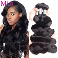 Peruvian Virgin Hair Body Wave 4 Bundle Deals 100% Unprocessed Human Hair Bundle 7A Grade Ali Moda Hair Weave Peruvian Body Wave