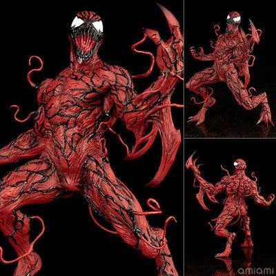 The Amazing SpiderMan Venom Carnage ARTFX + STATUE 1/10 Scale Pre-Painted Figure Model Kit 18cm marvel now venom artfx statue 1 10 scale pre painted figure collectible model toy