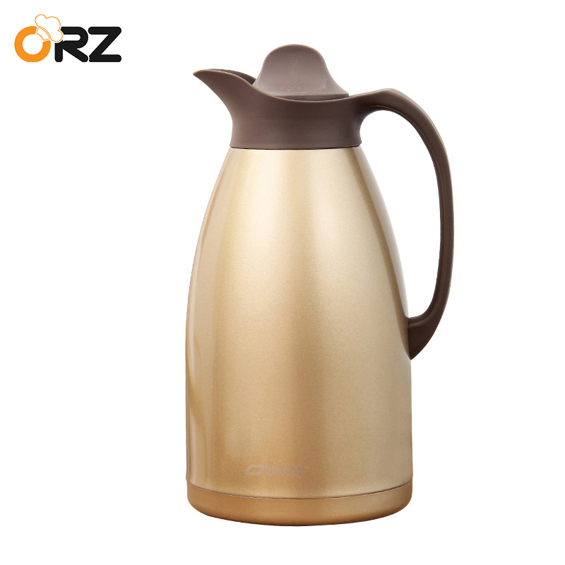 ORZ 3L Thermos Flask Coffee Mug Tea Water Bottle Stainless Steel Vacuum Kettle Insulated Carafe Hot