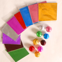 100 шт./лот 8* см 10*10 см цветная Оловянная фольга бумага шоколадная бумага для конфет и чая упаковка алюминиевая фольга бумага для шоколадного фонтана
