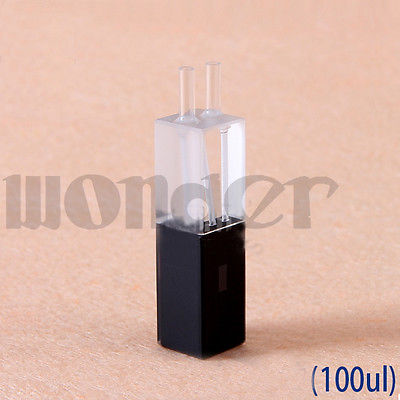 100ul 10mm Path Length Quartz Flow Cuvette With Glass Tube(100ul)100ul 10mm Path Length Quartz Flow Cuvette With Glass Tube(100ul)
