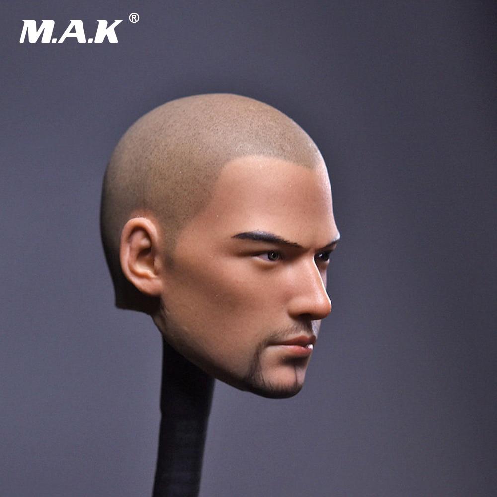 1/6 Scale Male Head Sculpt Tang Monk Asura Saint Bald Beard Version for 12 inches Man Action Figure1/6 Scale Male Head Sculpt Tang Monk Asura Saint Bald Beard Version for 12 inches Man Action Figure