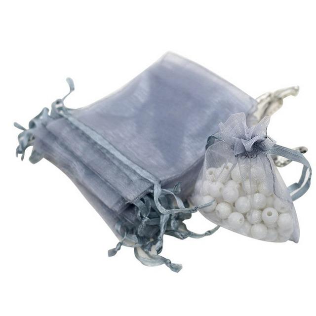 Set of 100 Organza Bags