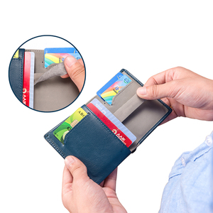 Image 2 - NewBring Minimalist กระเป๋าสตางค์หนังผู้ชายกระเป๋าถือชาย