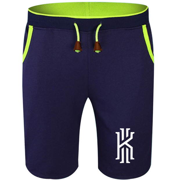 28edb5f97c3b9 Summer Cotton Shorts Kyrie Irving Cleveland USA MVP No.2 Men Fashion  Breathable Male Casual Comfortable Size Cool Short