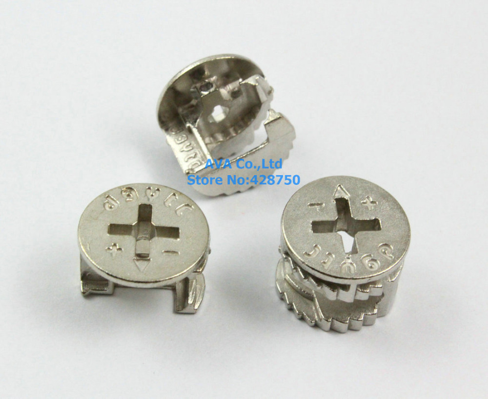 Pieces silver tone mm diameter furniture cam lock