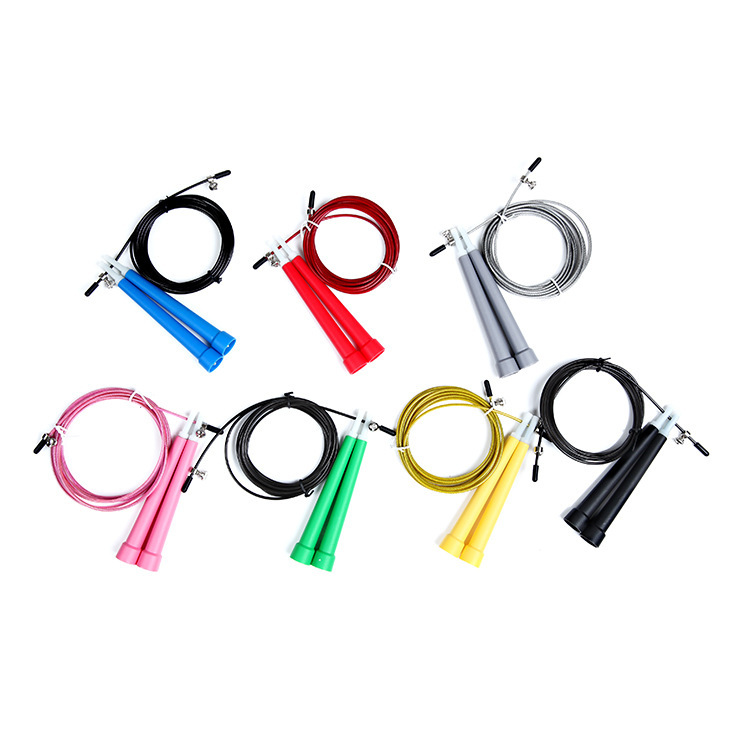 Ultra Speed Original Cable Wire Skipping Skip Adjustable Jump Rope Crossfit Key chain skipping rope