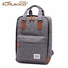 KAUKKO Stylish Oxford Fabric Backpack Travel Rucksack lightweight  Bag Satchel