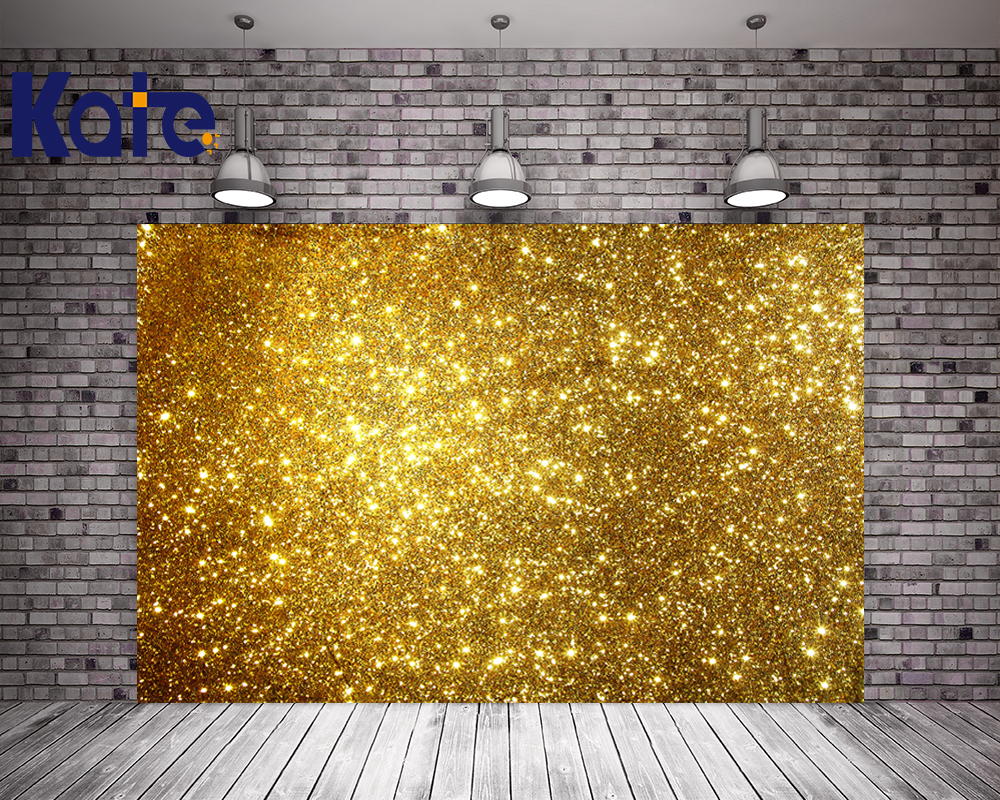 150X200Cm Kate Digital Printing Bling Bling Background Gold Studio Background For Children
