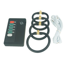 MYSTIM electro shock wave physical therapy equipment electric penis extension cock RING E stim sex toy for male