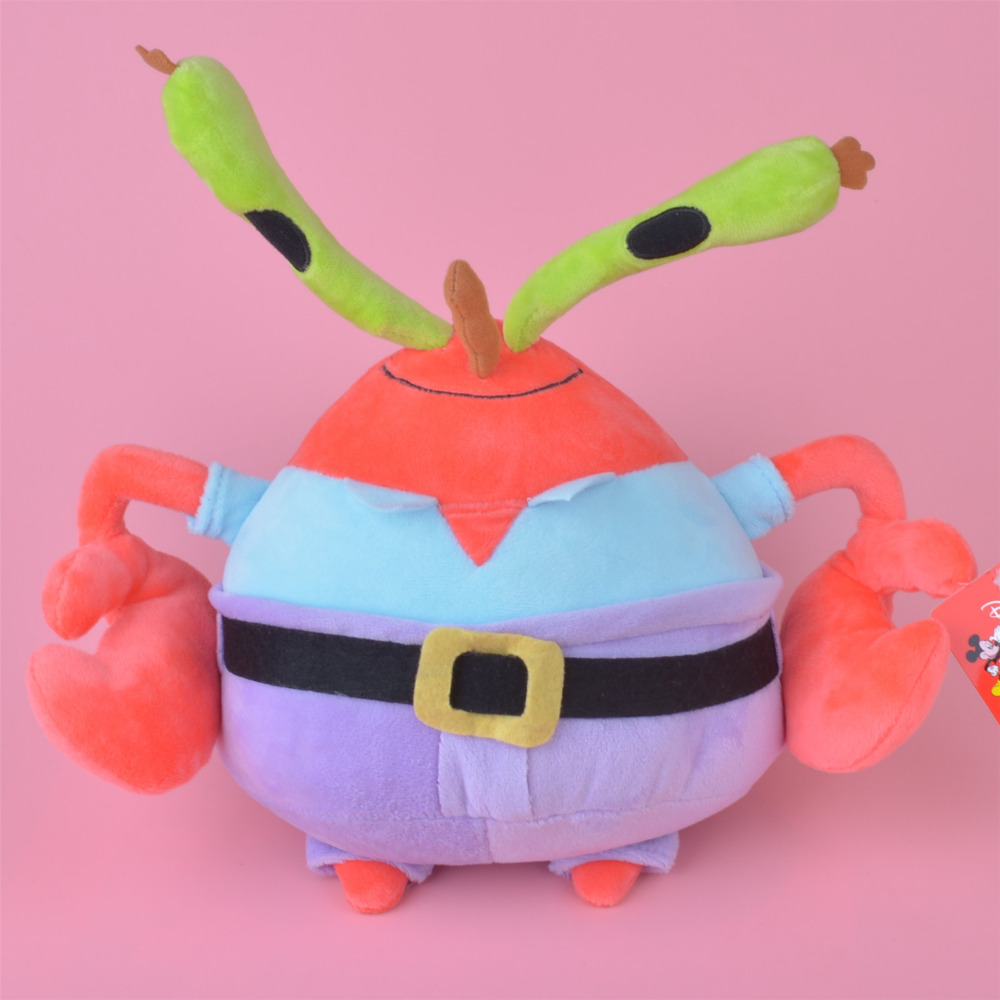 25cm Mr. Krabs Baby Kids Doll Gift, Lovely Stuffed Plush Toy Free Shipping