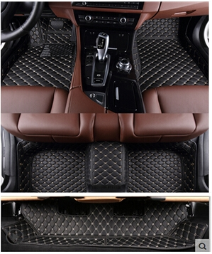 High quality! Custom special car carpets for Ford Explorer 7seats 2017-2011 waterproof n ...
