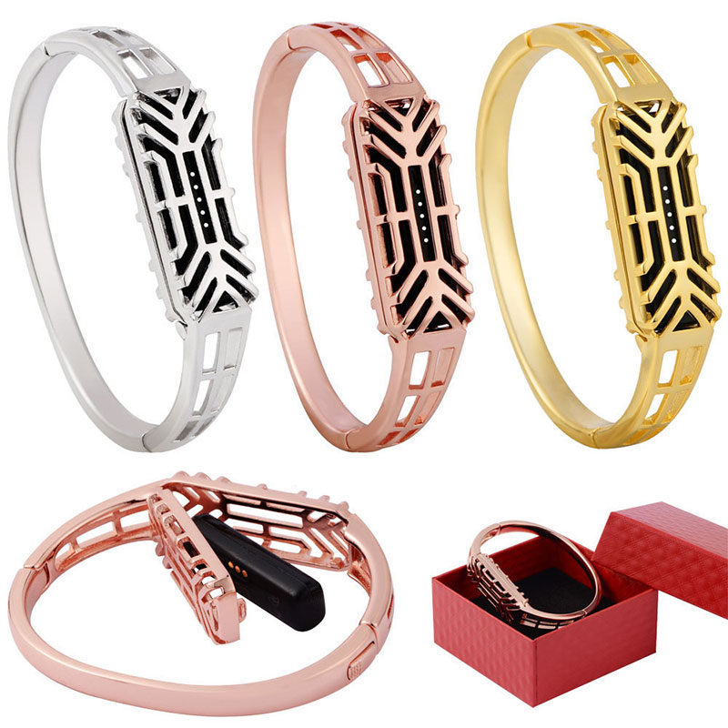 Original New Watch Band Wrist Stainless Steel Bracelet Accessory Watchband Wrist strap For Fitbit Flex 2 TOP Quality 2018