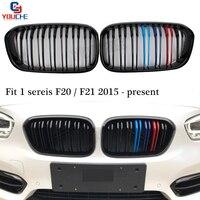 F20 Front Bumper Grille Mesh for BMW F20 F21 1 Series Hatchback 2015 + 118i 120i 125i 128i M140i Replace Kidney Grill