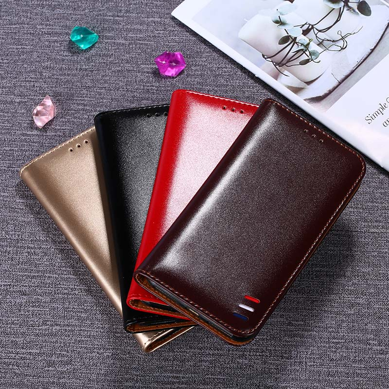 For Huawei Honor Play Flip PU Leather Case For Huawei Honor Play COR AL00 Case Cover Bag With Card Slot Kickstand in Wallet Cases from Cellphones Telecommunications