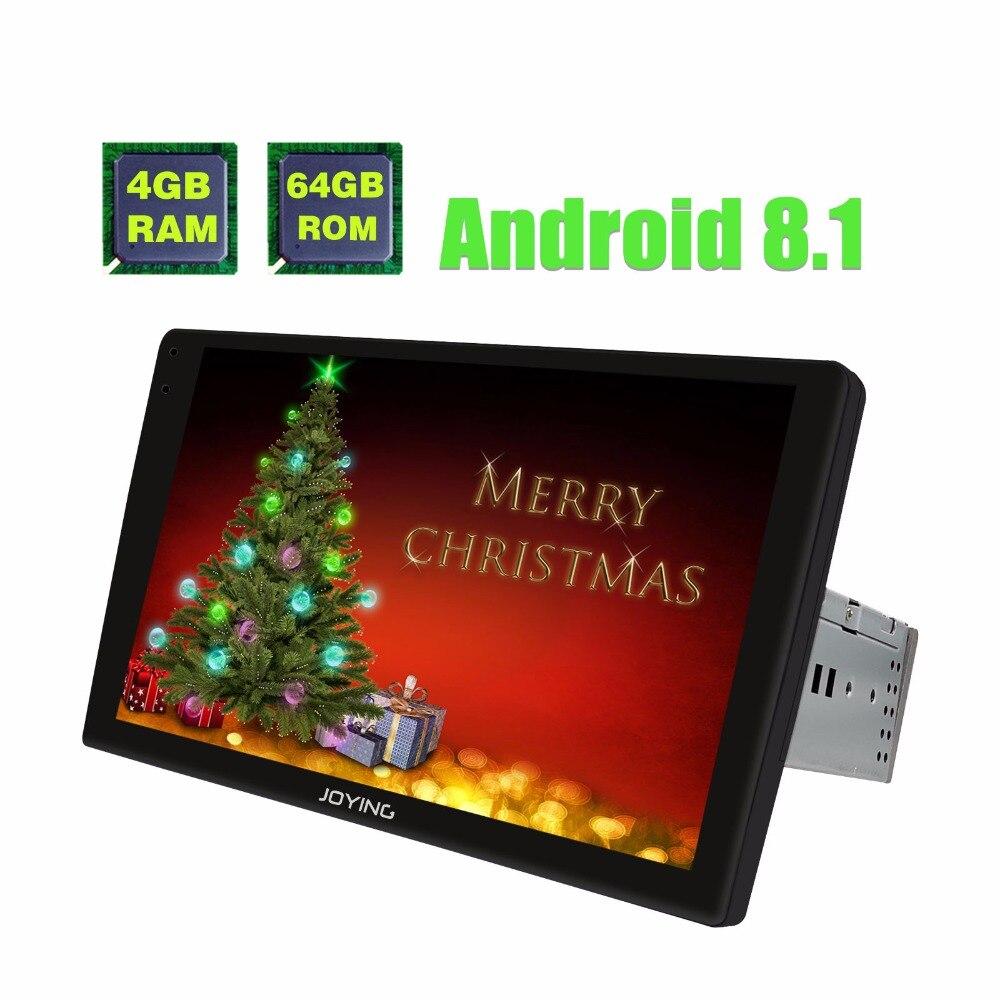 9 2.5D Écran Incurvé Unique 1 Din Universel Android 8.1 Voiture Radio Stéréo Autoradio Lecteur Multimédia Avec Numérique amplificateur