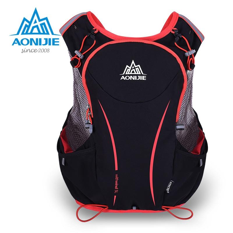 Extralight Waterproof Nylon Unisex Cycling Bag Crossbody Bag Outdoor Climbing Bag Travel Backpacks with Reflective strip AONIJIE