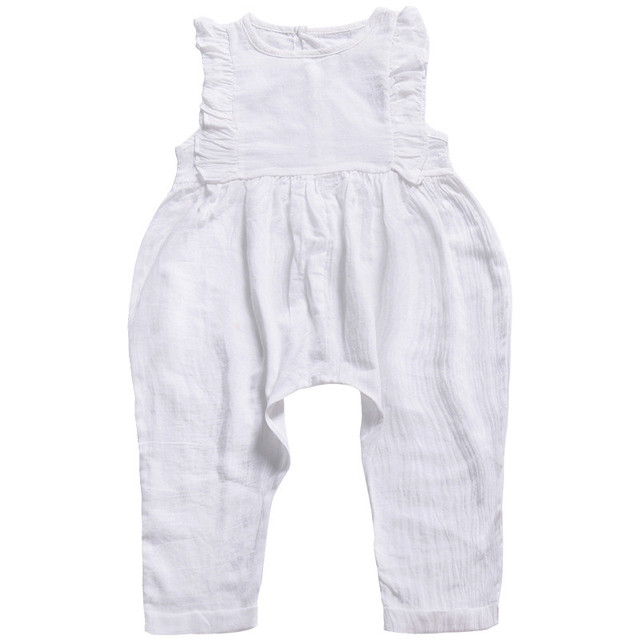 Baby Jumpsuit Summer Ruffle...