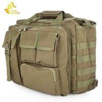 Free Knight Tactical Shoulder Bag Outdoor Molle Military Messenger Bag Computer Handbag Briefcase Laptop Camera Shoulder Bag