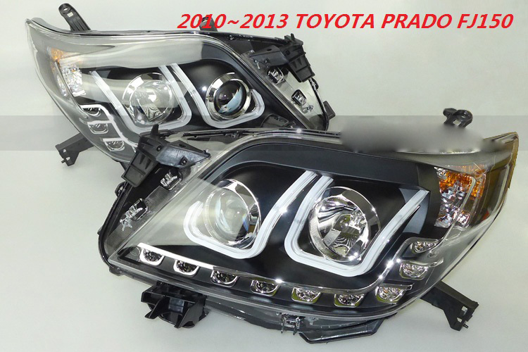 HID, 2010 ~ 1013, style de voiture pour phare Prado, FJ150 LC150, Innova, Cruiser, vios, RAV4, camry, Hiace, sienna, yaris, phare Prado - 3