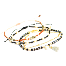 Charm Miyuki Bracelet cute thin  Bracelets For Women Beads Stone Crystal Handmade Jewelry Gift Drop Ship
