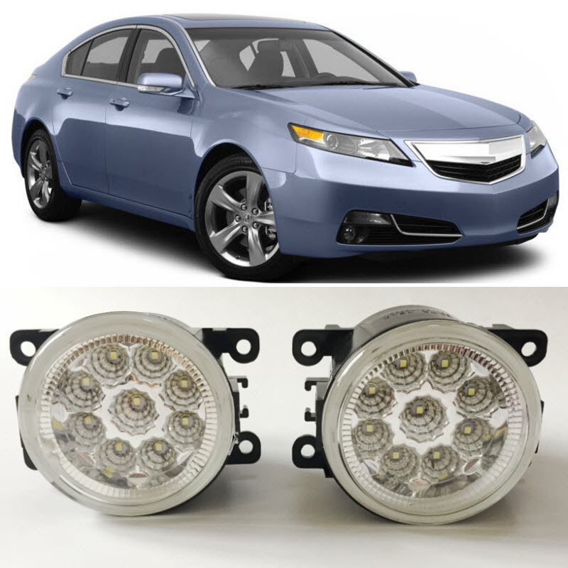 Car Styling LED Fog Light Lamp For Acura TL 2012 2013 2014
