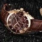 LIGE Uhr Für Männer Top Marke Luxus Wasserdichte 24 Stunde Datum Quarz Uhr Braun Leder Sport Armbanduhr Relogio Masculino 2019