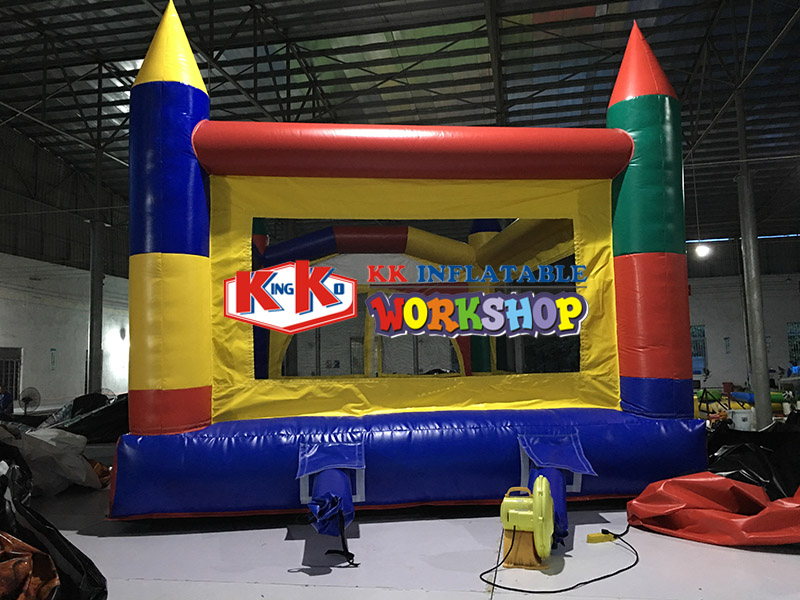 Small Inflatable Bouncer Commercial square childrens entertainment inflatable trampolineSmall Inflatable Bouncer Commercial square childrens entertainment inflatable trampoline