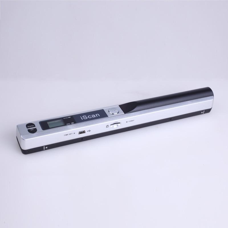 Offre spéciale scanner portable Document scanner portable 900 DPI écran lcd Soutien JPG/PDF Format Sélection Hors Ligne de Balayage