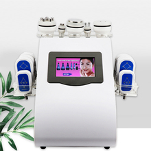 40k Ultrasonic liposuction Cavitation 8 Pads LLLT lipo Laser Slimming Machine Vacuum RF Sk