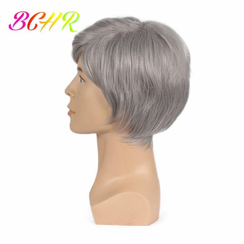 BCHR 6 ιντσών Short Striaght Πλήρης συνθετική - Συνθετικά μαλλιά - Φωτογραφία 3